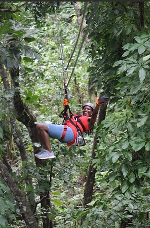 JungleQui Rainforest EcoAdventure Park: JungleQui Zipline park @ the National Rainforest