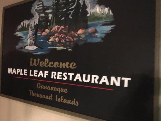 Maple Leaf Restaurant-Bar Czech Snitzel House : Maple Leaf - signage