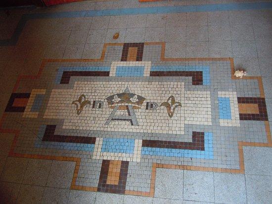 Decor Du Seuil En Mosaique Picture Of Eglise Notre Dame De L