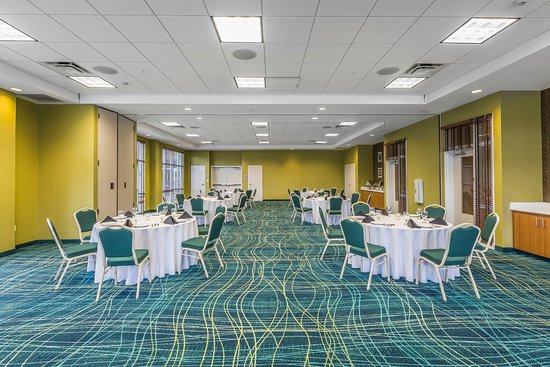 SpringHill Suites Chattanooga Downtown/Cameron Harbor: Tennessee River Room Banquet Style