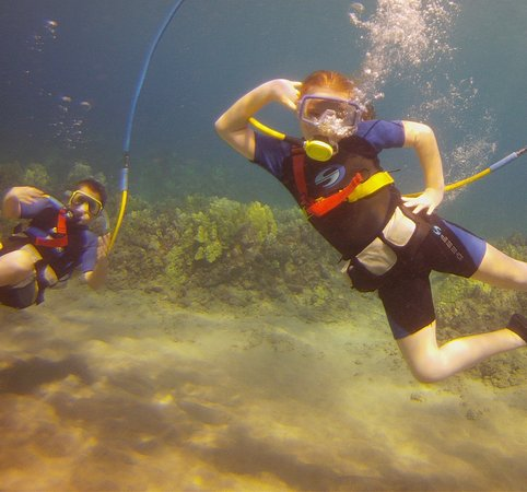 Pukalani, Hawái: kids snuba