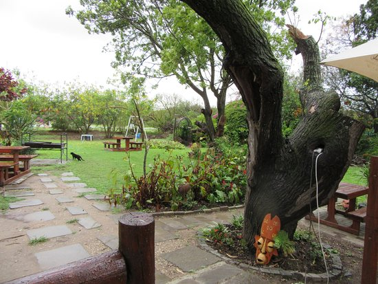 Colchester, Sudáfrica: Garden for outside dining