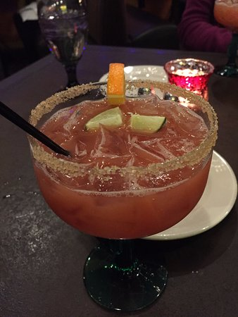 Falmouth, ME: Amazing Blood Orange Margarita