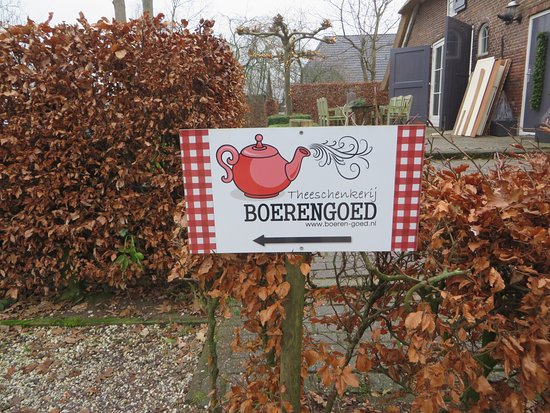 Oosterwolde, Hollanda: De ingang is aan de achterzijde
