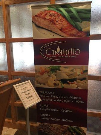Kingsgate Marriott Conference Center Caminetto Restaurant