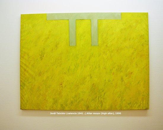 Museu d'Art Espanyol Contemporani - Fundacion Juan March: Jordi Teixidor, alta mayor, 1990