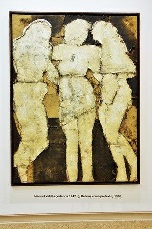 Museu d'Art Espanyol Contemporani - Fundacion Juan March: Manuel Valdes, Rubens como pretexto, 1988