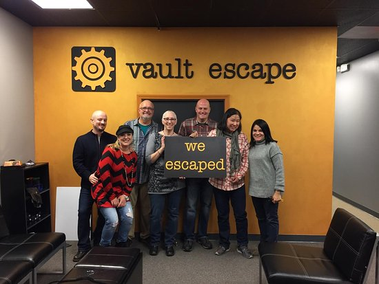 Vault Escape: We escaped with 7 minutes to spare
