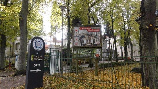 Polczyn-Zdroj, Polen: Wejście na teren hotelu