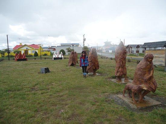 Porvenir, Chili: Plaza