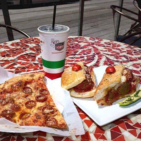 Photo of Italian Restaurant Tony's Coal-Fired Pizza and Slice House at 1556 Stockton St, San Francisco, CA 94133, United States
