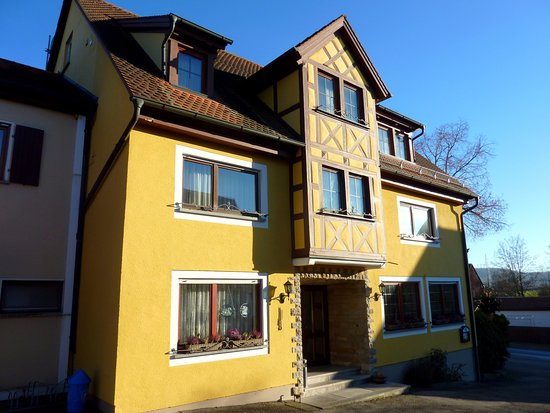 Hartershofen, Allemagne : L'entrée du Gasthof