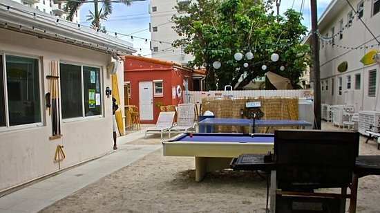 Picture Of Bikini Hostel Cafe Beer Garden Miami Beach Tripadvisor