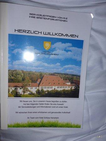 Bad Rappenau, Deutschland: Their photo on the documents