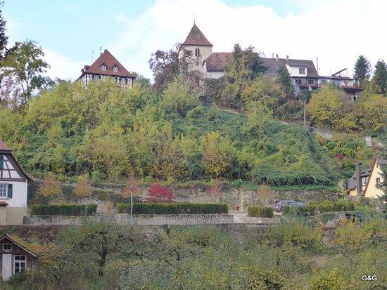 Bad Rappenau, Deutschland: Looking out my window