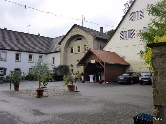 Bad Rappenau, Deutschland: By the main entrance