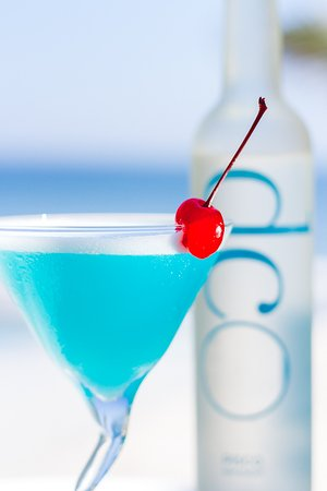 DCO Suites, Lounge & Spa : Trago emblema del Hotel Dco Blue