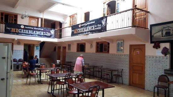 Casablanca Youth Hostel: Le hall principal de l'Hotel