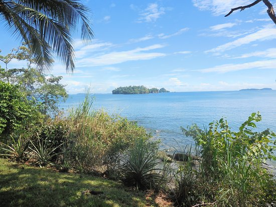 Golfo de Chiriqui National Park, Panama: View from the lodge