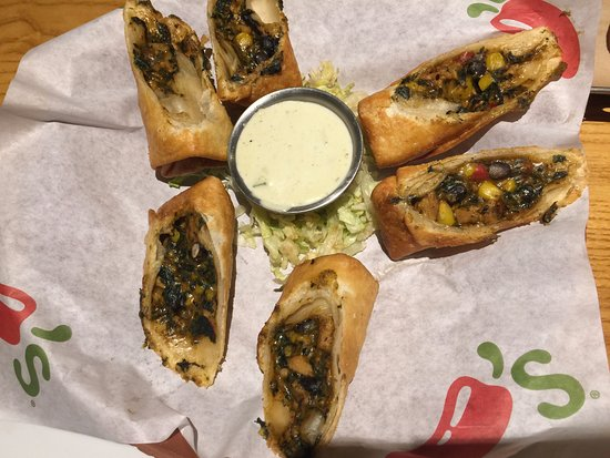Chili's: Southwest egg rolls are always a hit