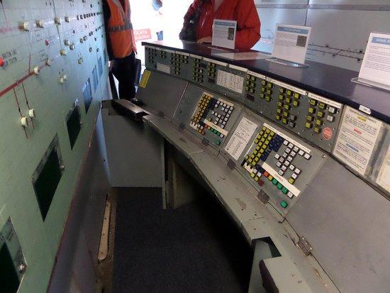 Coventry, UK: Victoria Line signalling centre equipment.