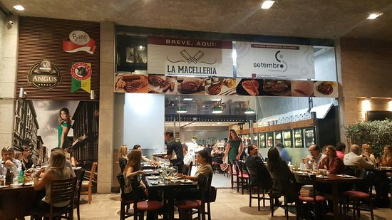 Excelente Restaurante La Macelleria Lourdes