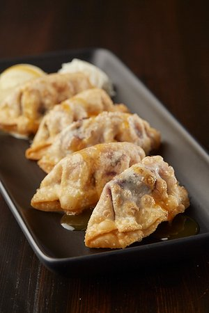 Mr Mikes Steakhouse Casual: Blueberry Gyoza