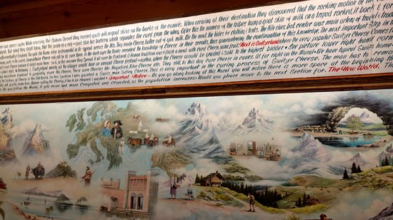 Millersburg, OH: One of a few murals