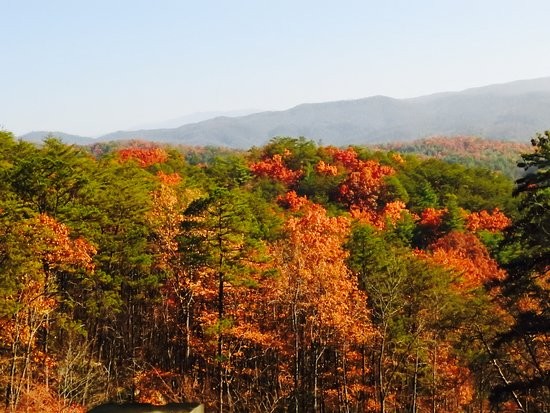Townsend, TN: Foothills Parkway in the late fall