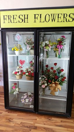 Mobridge, SD: Aalways have fresh flower ready to pick up and take with you or have delivered