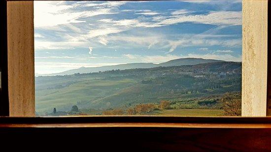 Firenze: Vista sulle colline dal bagno della stanza