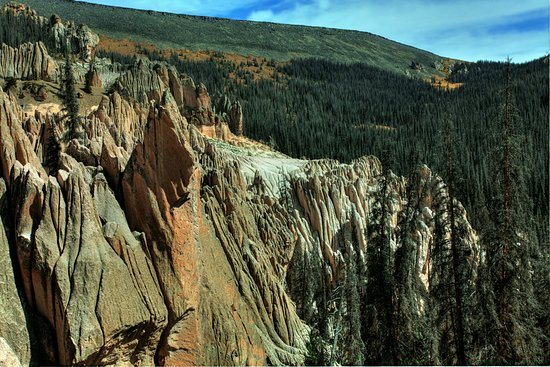 Wheeler Geological Area15 miles E of Creede, CO
