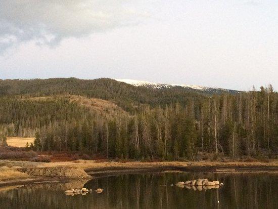 Tabernash, CO: Walking the trails at Dusk