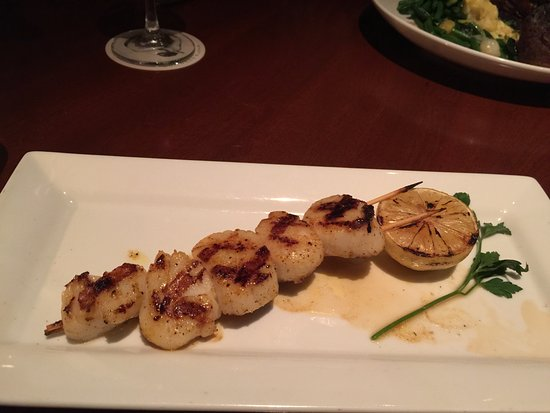 Seasons 52: Pan Seared Scallops