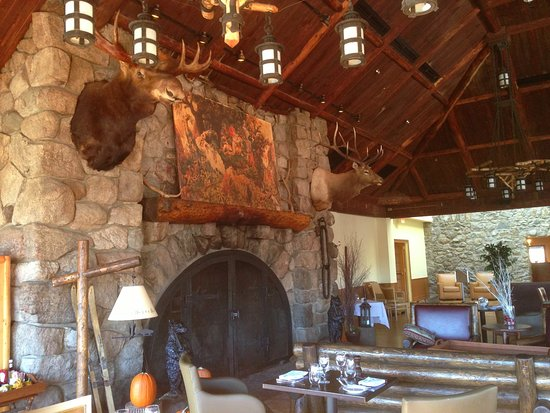 beautiful stone fireplaces. Restaurant 1915 And Blue Roof Tapas Bar  Beautiful Stone Fireplace At The Picture Of