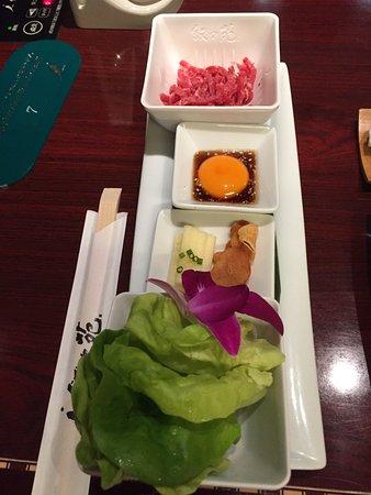 Jojoen, Marui City Ueno: 好吃的韃靼牛肉
