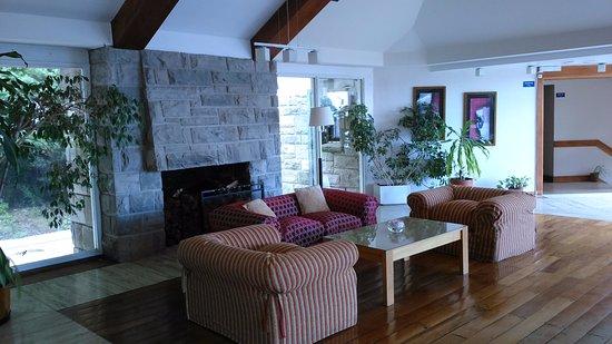 La Cascada Hotel: living con vista
