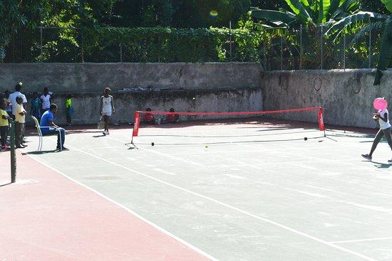 Petit Goave, Haiti: Kids tennis education program