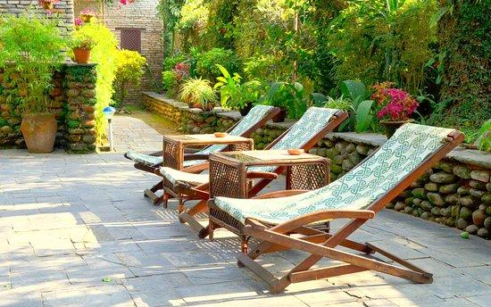 Mum's Garden Resort: Garden