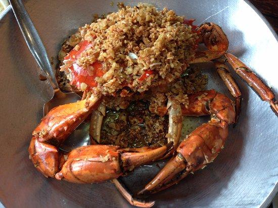red crab crab maritess