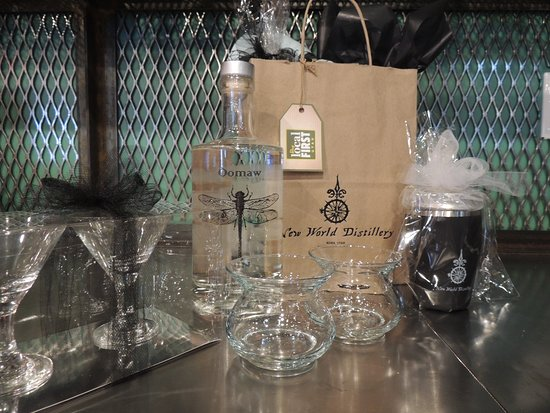 New World Distillery: Let us help with your gift-giving needs!