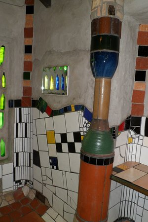 Kawakawa Public Toilets by Hundertwasser: Another view of the ladies loo