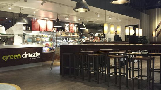 Kista, Sweden: Inside of espresso house