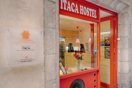 Itaca Hostel: Recepción