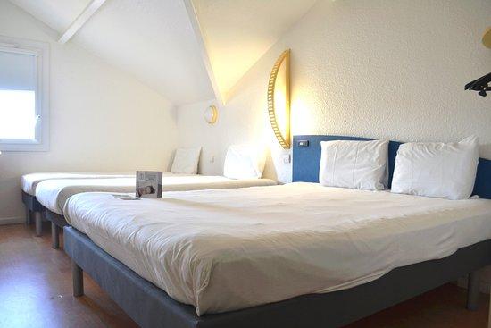 chambre familiale 4 personnes photo de ibis budget agen le passage tripadvisor. Black Bedroom Furniture Sets. Home Design Ideas