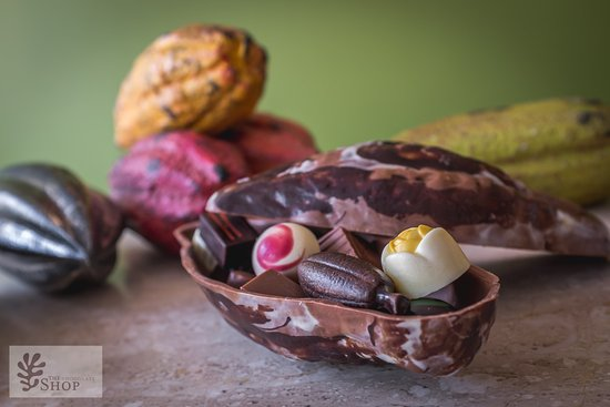 The Chocolate Shop: We offer the finest chocolate you will find anywhere, with Belgian chocolate and local ingredien