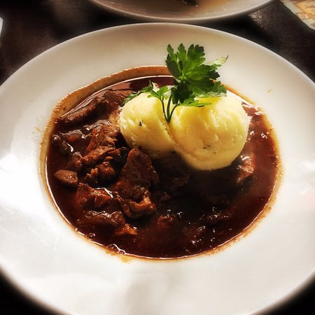 The Brazen Head: Beef & Guinness Stew - it's delicious