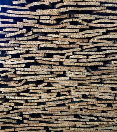 Centro de Recepcion de Visitantes de Cortegana: Gran repercusión han alcanzado los productos transformados de la industria corcho-taponera.