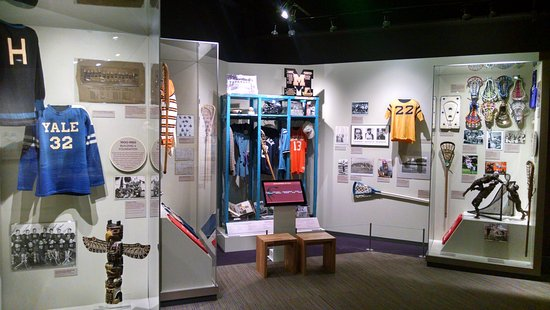 ‪The National Lacrosse Hall of Fame & Museum‬