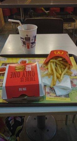 big mac meny